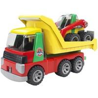 Transporter met voorlader Bruder Roadmax
