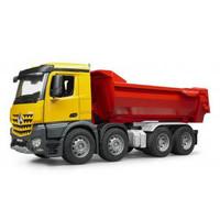 MB Arocs Halfpipe dump truck Bruder