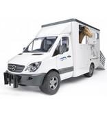 Bruder Bruder Mercedes Sprinter Vrachtwagen Paardentransport 02533