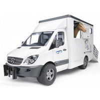 Mercedes Sprinter paardentransport Bruder