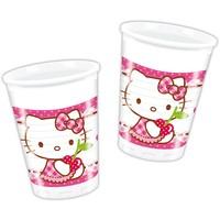 Bekertjes Hello Kitty 200 ml: 6 stuks