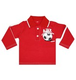 AJAX Amsterdam Baby polo ajax longsleeves rood little soccer fan maat 86/92