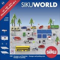 Garage en parkeerplaatsen Sikuworld Siku