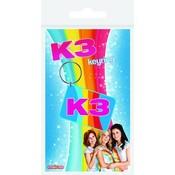 K3 Sleutelhanger rubber