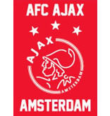AJAX Amsterdam Speelkaarten ajax wit/rood/wit logo