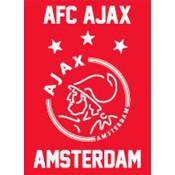 Speelkaarten ajax wit/rood/wit logo