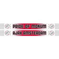 AJAX Amsterdam Sjaal ajax rood/wit gespikkeld