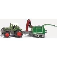 Tractor met houthakselaar SIKU