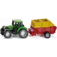 Tractor met Pottinger laadwagen SIKU