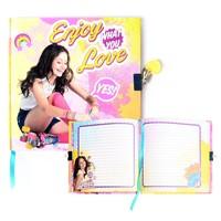 Dagboek met slot Soy Luna