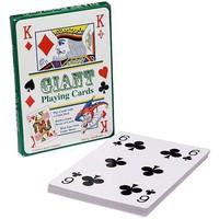 Speelkaarten: extra groot 28x20 cm