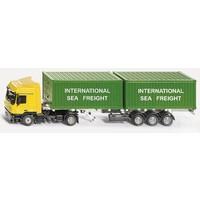 Vrachtwagen met container SIKU