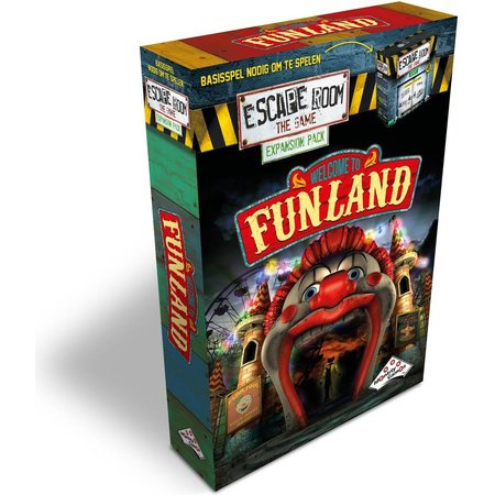 Identity Games Escape Room: The Game expansion - Welcome to Funland