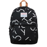 Rugzak Awesome Boys black: 44x33x18 cm