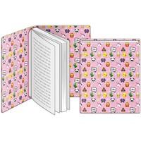 Boekenkaft rekbaar Emo Fun: 22x40 cm