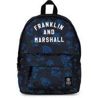 Rugzak Franklin M. Boys blue: 40x30x15 cm