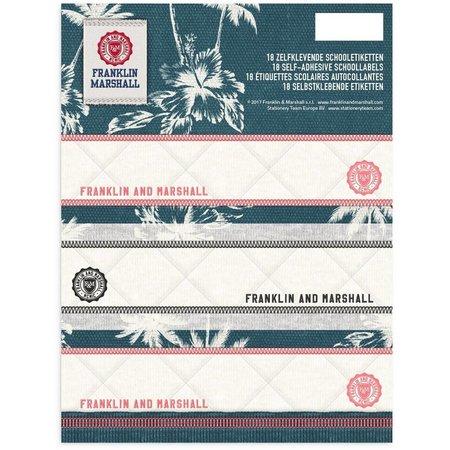 Franklin & Marshall Etiketten Franklin M. Girls 18 stuks