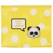 Etui Emo Fun yellow: 15x21 cm
