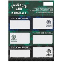 Etiketten Franklin M. Boys 18 stuks