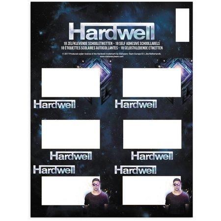 Hardwell Etiketten Hardwell 18 stuks