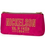 Nickelson Etui Nickelson Girls pink: 10x21x6 cm