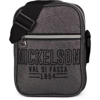 Schoudertas Nickelson Girls silver: 20x15x5 cm