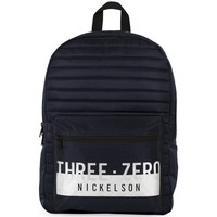 Rugzak Nickelson Boys black: 41x30x16 cm