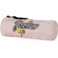 Etui Replay Girls pink: 8x23x8 cm
