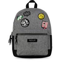 Rugzak Replay Boys grey: 41x30x16 cm