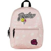 Rugzak Replay Girls pink: 41x30x15 cm