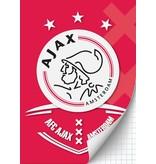 AJAX Amsterdam Schrift ajax AFC A4 geruit