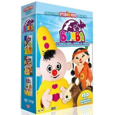 Bumba Bumba 3-DVD box - Wereld rond vol. 2