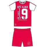AJAX Amsterdam Shortama ajax rood/wit AFC 1900 maat 92