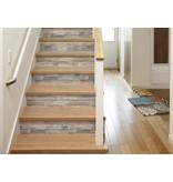 Sticktiles Wandsticker RoomMates Peel & Stick Decor Blue Distressed Wood