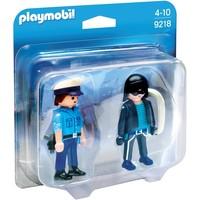 DuoPack Politieagent en dief Playmobil