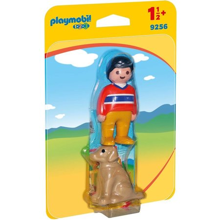 Playmobil 1.2.3 Man met hond Playmobil
