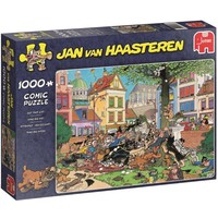 Puzzel Jan van Haasteren Get That Cat 1000 stukjes