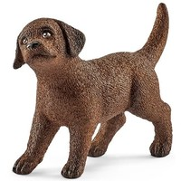Schleich Labrador Retriever Welp 13835 - Hond  Speelfiguur - Farm World - 4,9 x 1,6 x 3,4 cm