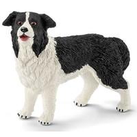 Schleich Border-Collie 16840 - Hond Speelfiguur - Farm World - 6,2 x 1,8 x 4,1 cm