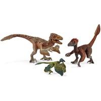 Schleich Utahraptor, Velociraptor en Microraptor  42347 - Speelfiguur - Dinosaurs - 29 x 16,3 x 17,5 cm