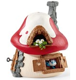Schleich Schleich Smurfenhuis met grote smurf, Gargamel en Izraël 20800 - Speelfigurenset  - De Smurfen - 19 x 19 x 19 cm