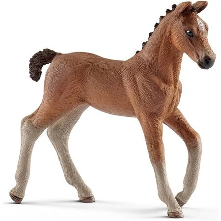 Schleich Schleich Hannoveraan veulen 13818 - Paard Speelfiguur - Horse Club - 8,3 x 2 x 8 cm