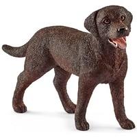 Schleich Labrador Retriever Teef 13834 - Hond Speelfiguur - Farm World - 7,4 x 2 x 5 cm