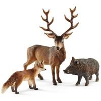 Schleich Europese Bosdieren 41458 - Speelfigurenset - Wild Life - 24,5 x 8,2 x 19 cm