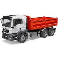 MAN TGS vrachtwagen met kiepbak Bruder