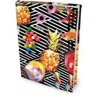 Boekenkaft rekbaar Dresz A4 Candy