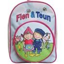 Fien en Teun Rugzak Fien & Teun roze 24x31x12 cm