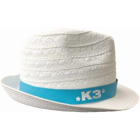 K3 K3 Hoedje linnen - wit