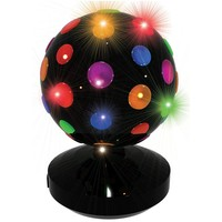 Discolamp LED Party FunLights zwart 20 cm