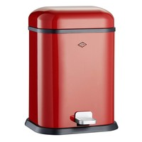 Wesco Single Boy Pedaalemmer 13L Rood